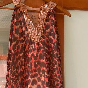 Free People Printed/Sequin Dress